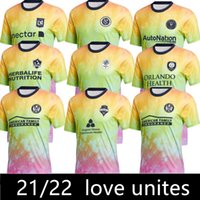 2021 DC United Inter Miami Love Unité Soccer Jerseys Nashville Los Angeles La Galaxy Pre Training Match Atlanta Orlando Seattle Sounders Lafc City York FC NCCFC
