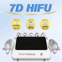 FDA Godkänd 4D HIFU Machine Annan skönhetsutrustning Face Lifing Free Logo gav ultraljud 2.0mm Unik ögonbehandling