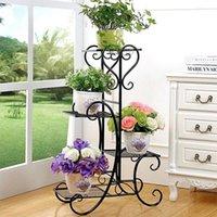 Ağır metal bitki standı saksı tutucu, ev dekorasyon, dekorasyon için