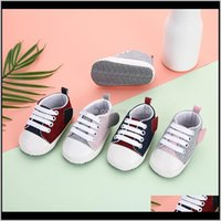 Baby, Kids & Maternity Canvas Sneaker Sport For Girls Boys Borns Shoes Baby Walker Infant Toddler Soft Sole Anti-Slip First Walkers Drop Del