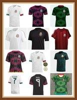 2021 México Branco Futebol Jerseys Nation Chicharito Lozano Guardado Carlos Vela Raul Blanco Ramirez 2022 Camisas de futebol Maillot de Futol