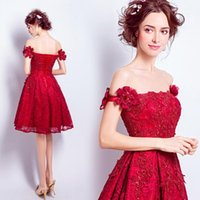 Evening Dresses Dress 2021 Mrs Win The Party Prom Formal Gown Elegant Boat Neck A-line Vintage Lace F