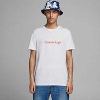 Mens T Shirts Printing Round Neck Shirt Men Short Sleeves Cotton ee ops