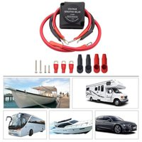 Parts 12V Relay Battery System Isolator 125A Voltage Detection Split Type Charging Switch VSR For RV Yacht Buggy ATV