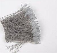 100x detergenti per tubi in nylon pulitori di paglia per la pulizia spazzola per il tubo di bevanda tubo in acciaio inox cleaner 393 V2