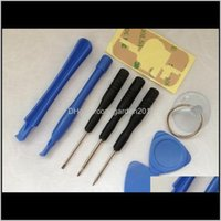 Réparation d'outils Pièces Téléphones portables Aessories8 in 1 Tournevis Sucker pry Ouverture de réparation Kit d'outils pour téléphone 4 4S 4G 5 5C 5S 6 6plus 100