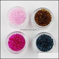 Schmuck 500 teile / set lose 2/3 / 4mm tschechische Glase Samen Spacer Perlen Viele Farben für Schmuckherstellung Handwerk DIY 1032 Q2 Drop Lieferung 2021 P26YW