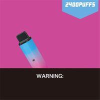 Original HCOW SWITCH Disposable Device Kit E-cigarettes CUBE DUAL 2 IN 1 2400 Puffs 850mAh Battery 8ml Prefilled Pods Cartridges Vape Stick Pen Vs RANDM 100% brand new