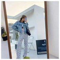DesignerWe11done Quan Zhilong same loose rivet Pearl denim jacket men's and women's high street fashion fog[Completed on October 13]Balencaiga