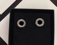 الأزياء والماس أقراط aretes لسيدة المرأة حزب عشاق الزفاف هدية مجوهرات الاشتباك للعروس مع مربع