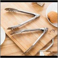 Diğer Araçlar BARBEKÜ Mutfak Kilidi Tasarım Barbekü Klip Kelepçe Paslanmaz Çelik Gıda Maşa LX0204 2SDDH RDMNO