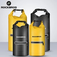 ROCKBROS Swimming Bag Beach Waterproof Bucket Bags Shoulder Package Women Floating Diving Drifting Outdoor Tourism Storage Pouch 20L