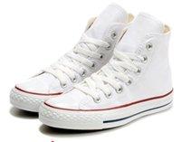 Boyutu 35-46 unisex yüksek top yetişkin kadın erkek tuval ayakkabılar 13 renkler bağcıklı rahat sneaker elbise ayakkabı