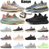 adidas yeezy boost 350 v2 Stock Kanye west X womens mens scarpe da corsa taglia 13 Yecher Abez nero Israfil corridori statici riflettenti scarpe da ginnastica