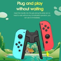 Game Controllers & Joysticks Fast Charging Handle For Swtich Switch Oled Ontroller Joycon Charger Grip NS Accessories Portable Char