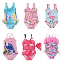 ملابس الصيف ملابس الأطفال ملابس السباحة قطعة واحدة الرضع الفتيات الأزياء الكرتون بيكيني الاطفال السباحة شاطئ ارتداء الأميرة تنورة الملابس بيع G54ifaf