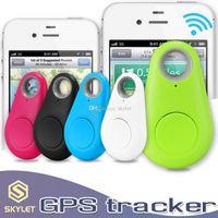 Mini GPS Tracker Bluetooth 4.0 Alarm ITAG Anahtar Bulucu Perakende Pakcage ile Anti-Kayıp Selfie Deklanşör