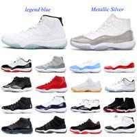 2021 الرجال 11 11 ثانية أحذية كرة السلة منخفضة wmns مشرق الحمضيات كونكورد 45 bred الفضاء مربى بارونز مان الرياضة حذاء رياضة manbasketballshoes المدربين