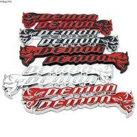 BSTGS Metal Amblem Rozeti Çıkartmaları Araba Sticker Dodge Challenger için Srt Demon SRT8 RC Hellcat Ram Durango Şarj Araba Sticker