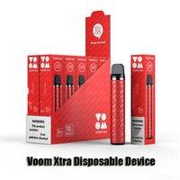 Original iTsuwa Voom Xtra Disposable Device E-cigarettes 1500 Puffs 600mAh Rechargeable Battery 5ml Cartridge Pod Vape Pen Authentic VS Bar Plus