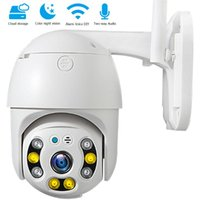 Cameras PTZ 3MP Outdoor Smart Camera Wifi 4X Zoom Cloud Surveillance Action CCTV Security Protection 360 For Home