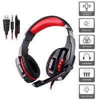 Auriculares auriculares de juegos con 7,1 sonido envolvente estéreo, PS4 Auriculares Cancelación de ruido MIC LED LED, controlador de PC compatible (adaptador necesario)