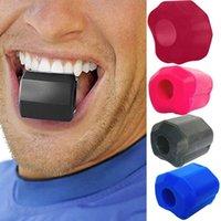Silicona Jaw Entrenador Facial Músculo Forma Masticar Dispositivo Fitness Bola Cuello Facial Ejercicio Equipo de Entrenamiento