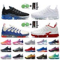 Nike Air Vapormax Plus Off White 2021 Tn Plus Big Size US 13 Donna Uomo Scarpe da corsa Nero Royal University Red Atlanta Scarpe da ginnastica Sneakers