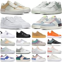 air force 1 af1 shoes hombres mujeres zapatos casuales shadow Pale nike Ivory Sunset Spruce Aura triple white Washed Coral Photon Dust zapatillas de plataforma Jogging Walking