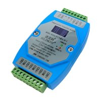 Smart Home Control RS20N-C 8-channel Temperature Transmitter NTC 10K Thermistor To RS485 MODBUS-RTU Acquisition Module Support PLC