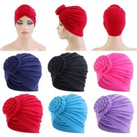 Solid Cotton Muslim Turban Scarf For Women Twisted Indian Arab Wrap Head Scarves islamic Inner Hijab Caps turbante mujer
