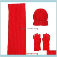 Caps Masks Protective Gear Cycling Sports & Outdoors1 Set Exquisite Gloves Stylish Warm Scarf Chic Winter Cap For Girls1 Drop Delivery 2021