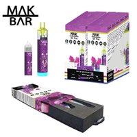 Vapto descartável Vape Cigarro Eletrônico 1600 Puffs Device 1200mAh 10ml POD 20+ Cores Disponível E Cigs