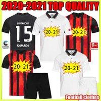 2020 Eintracht Frankfurt Adulto + Kid Kit Quality Soccer Jersey 20 21 Francofortea Casa Away De Guzman Away Quality Football Uniform