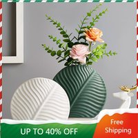 Vases Creative Уникальная Nordic Vase Украшения Главная Фарфор Современного Свадебного стола VAAS 50HP