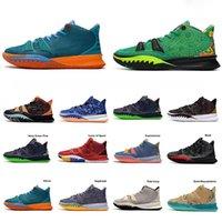 Kyries 7 Özel FX Ön-Isı Koleksiyonu 2021 Basketbol Ayakkabıları Kyrie Erkekler Weatherman Daybreak Plaj Vibes Kız kardeşlik Simgeleri Spor
