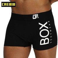 Külot CMENIN Iç Çamaşırı Erkekler Boxer Cueca Erkek Külot Pamuk Yumuşak Moda Aşınmış Iç Çingene 3D Kılıfı Şort Seksi OR212