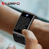 Designer horloge merk horloges luxe horloge 20 scherm LEMFO DM12 Smart Mannen IP68 Waterdichte Sport Hartslag Bloeddruk Android