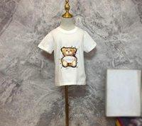 baby boy girl T shirt kids  clothes summer cartoon letters short sleeve shirts top tee