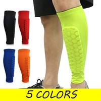 Elbow & Knee Pads W Football Shin Guards Protective Soccer Holders Leg Sleeves Basketball Training Sports Protector Gear Adult Teenager 1PCS