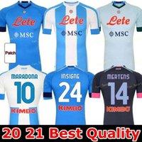 20 21 Napoli Fußball Jersey Neapel Fußball Hemd 2020 2021 Koulibaly Camiseta de Fútbol Insignente Milik Maillots H.Lozano Mertens Männer Kinder