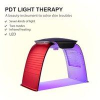 2021 Frio Spray Spa Anti Envelhecimento 7 Cor PDT Facial LED Terapia de Luz Terapia Cuidados com a pele