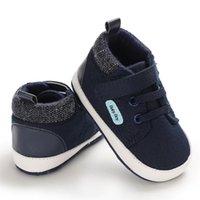 EBainel Baby Walkers Scarpe Boy Canvas Sport Sneakers Classico Infante per scarpe morbide neonate Sole PREWALKER PRIMA ANTI-SLIP HUBCW HUBCW