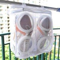 أحذية غسل شنقا حقيبة جافة رياضة شبكة الحقيبة آلة نظافة غسيل ودية صافي أكياس تجفيف