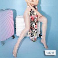 Aceite sexy Shine Tasas de cintura altas Glitter Pantyhose Open Deprisch Brillante Lustre Lieces Calcetines Hosiery