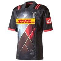 Top Britannici e Irish Lions Edinburgh Rugby Jersey 2021 Holden Blues Montpellier Black Shark Rugby Shirt Harlequins Bulls Super Jerseys