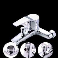 Chuveiro de banheiro Conjuntos Torneira de cobre Banheira Aquecedor de água Escondido Triplo e Frio Válvula de mistura H8221