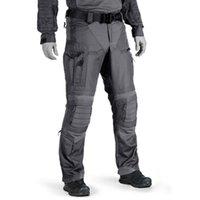 Pantalon tactique de 2021men militaire US Army Oritannique Vêtements de travail Combat Uniforme Paintball Multi Poches Pantalon de cargaison résistant à l'usure Hommes