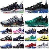 vapormax tn Plus vapor BÜYÜK BOY 13 Pembe Metalik Altın erkek koşu ayakkabıları Coquettish Mor Hiper Menekşe Limon Kireç Kadın spor eğitmenleri spor ayakkabısı