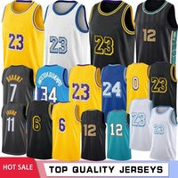 NCAA LeBron 23 James College Basketball Jerseys Anthony Kyle 3 Davis 32 Johnson Men Jersreys Stock S-XXL Hot Sale 2021